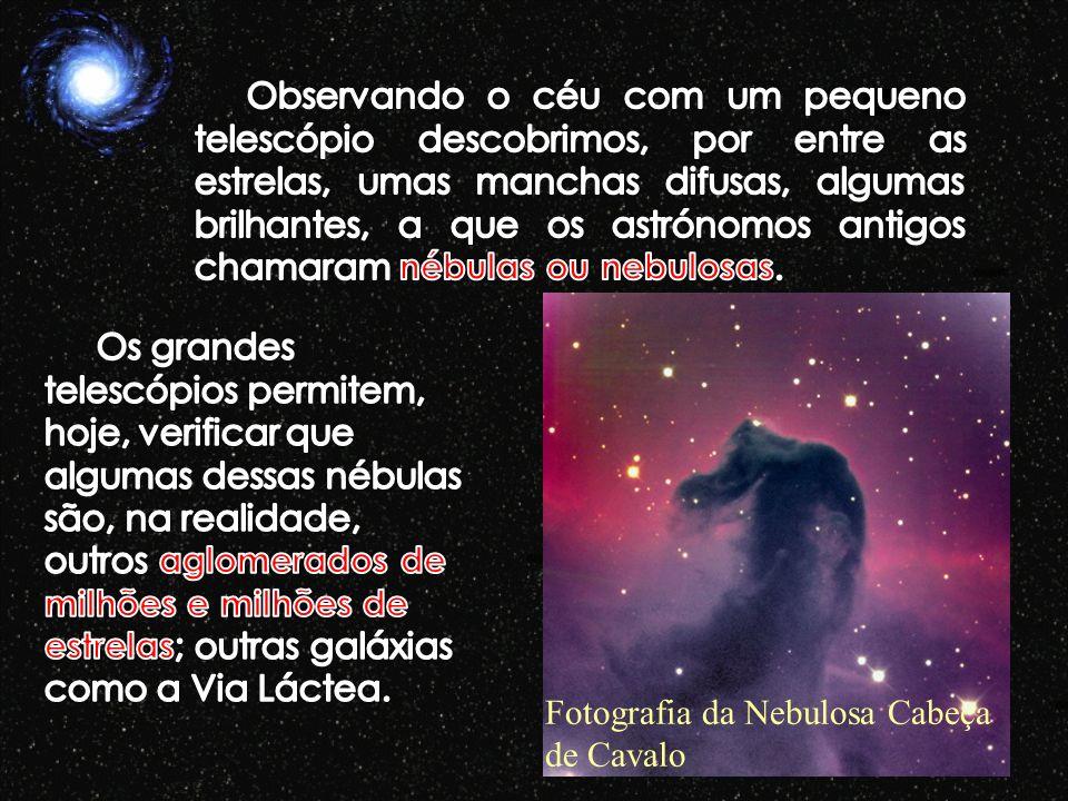 Fotografia da Nebulosa Cabeça de Cavalo
