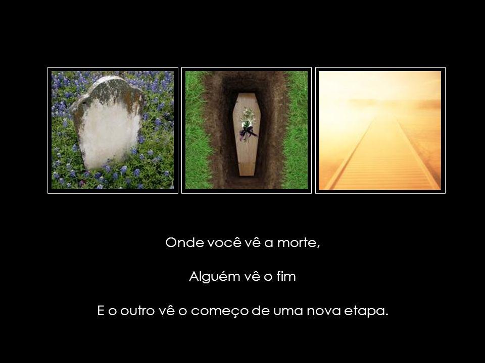 suefirmeza@yahoo.com.br Onde você vê um motivo pra se irritar, Alguém vê a tragédia total E o outro vê uma prova para sua paciência.