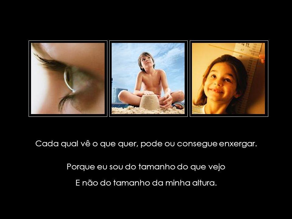 suefirmeza@yahoo.com.br Cada qual vê o que quer, pode ou consegue enxergar.