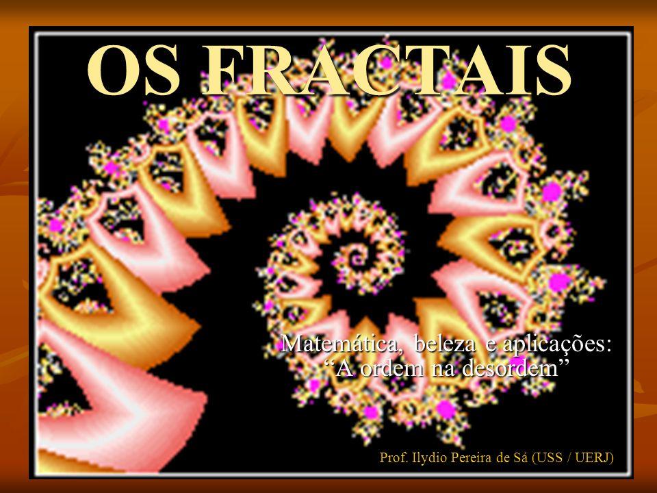 OS FRACTAIS Matemática, beleza e aplicações: A ordem na desordem Prof. Ilydio Pereira de Sá (USS / UERJ)