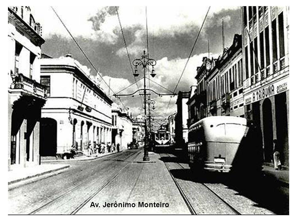 Foto da Praça Oito, tirada da avenida Princesa Isabel.