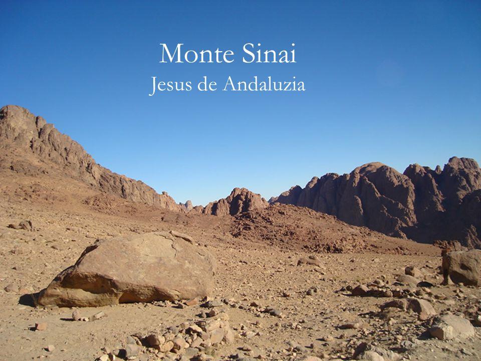Outra vez conduzido por Raquel e Ied, o guia Beduíno, desci o Monte Sinai.