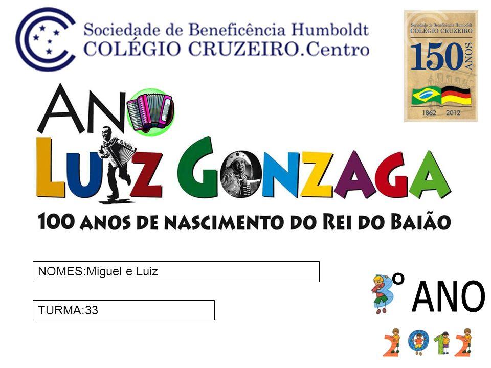 NOMES:Miguel e Luiz TURMA:33