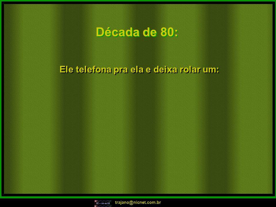 trajano@nicnet.com.br Década de 70: