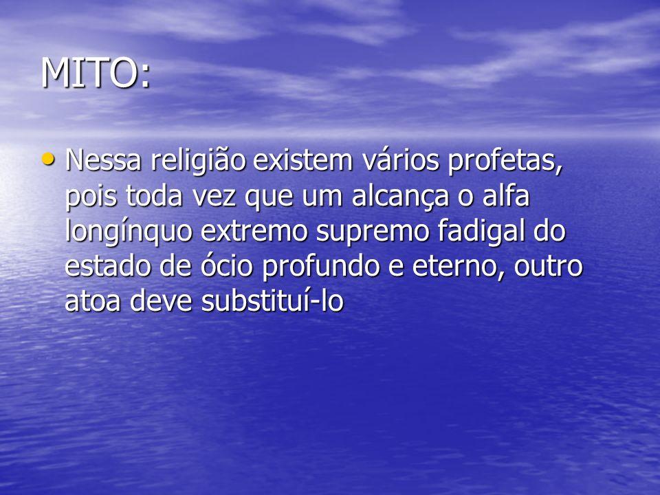 MITO: Em relação a qualquer documento sagrado, como a bíblia, o tora, e o alcorão.