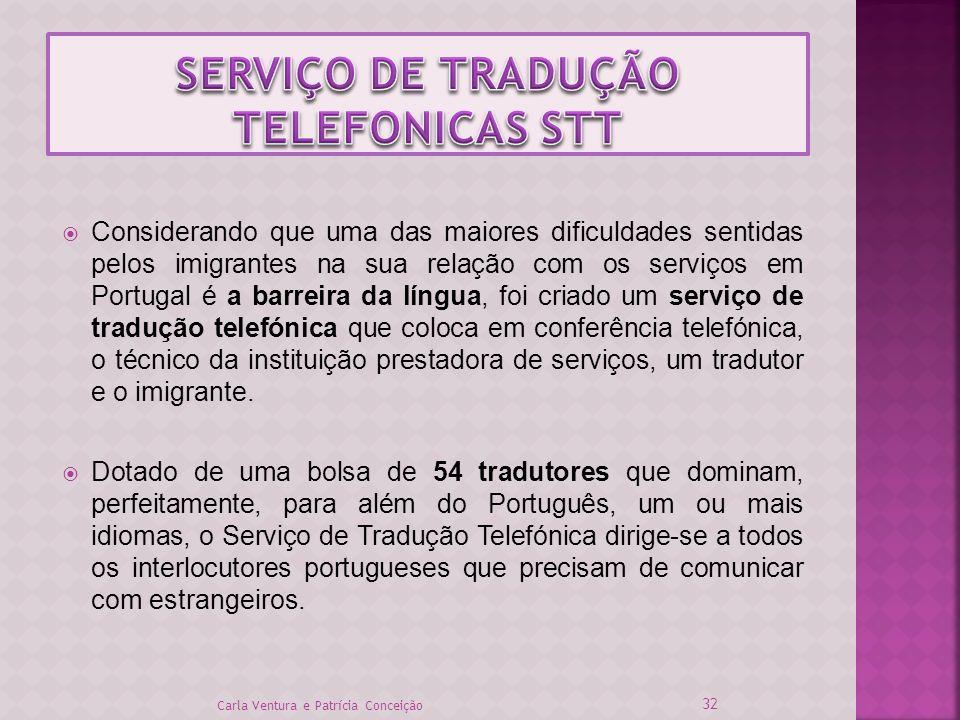 Considerando que uma das maiores dificuldades sentidas pelos imigrantes na sua relação com os serviços em Portugal é a barreira da língua, foi criado