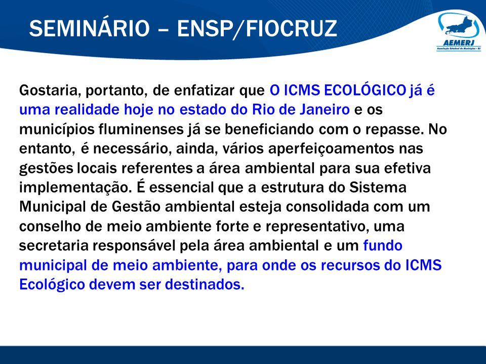 © 2008-2009. SIGFácil, SIGISS Digital e SIGPub são soluções providas pela Vox Tecnologia. SEMINÁRIO – ENSP/FIOCRUZ Gostaria, portanto, de enfatizar qu