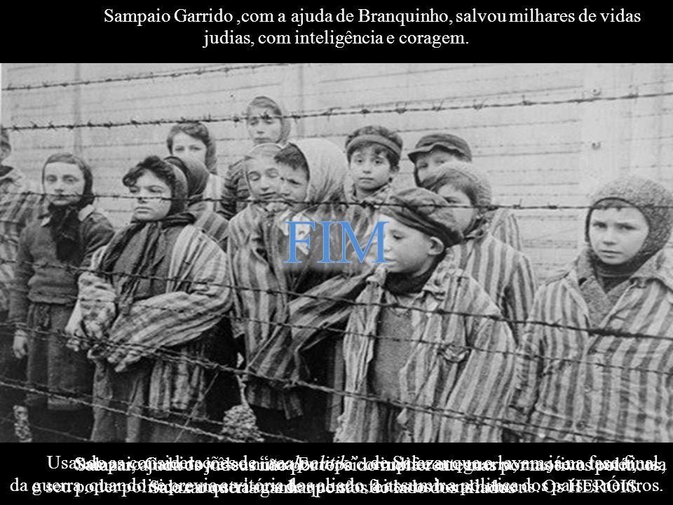1 Sampaio Garrido vê-se numa Europa corrupta e em guerra, mas sem temer, usa o seu poder politico e mostra-nos de que são feitos os bons homens. Os HE