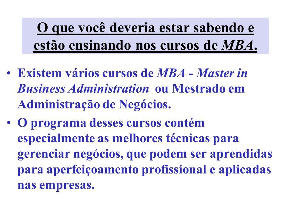 MBA tradicional – 2 anos 1º ano: abordagem integrada das responsabilidades funcionais: marketing, economia, ética empresarial, tecnologia, estratégia