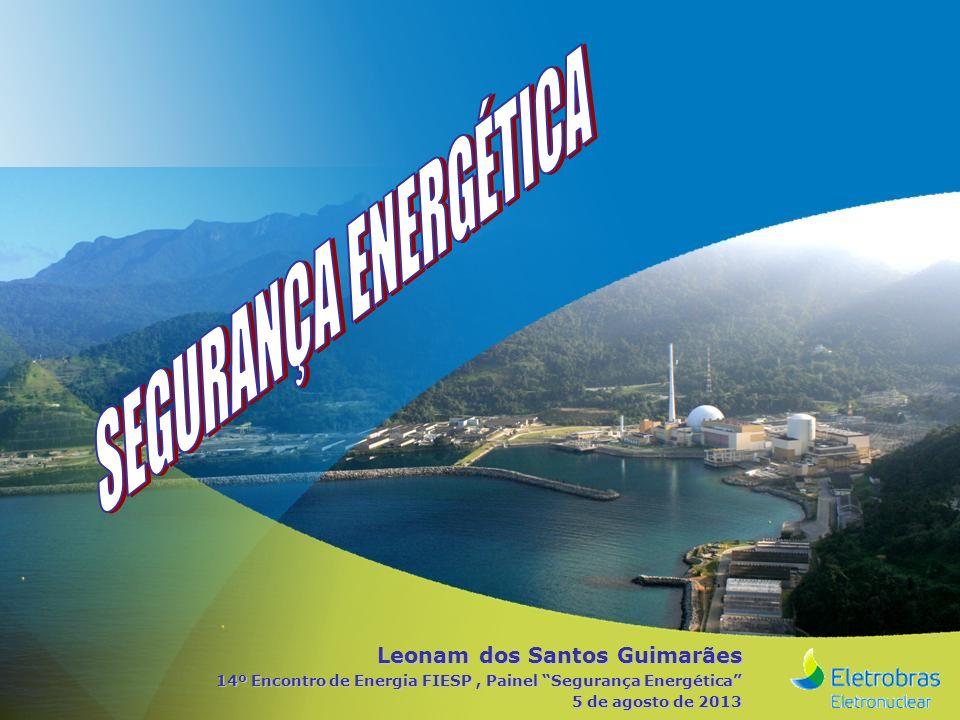 Leonam dos Santos Guimarães 14º Encontro de Energia FIESP, Painel Segurança Energética 5 de agosto de 2013