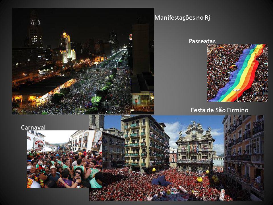 Festa de São Firmino Manifestações no Rj Carnaval Passeatas