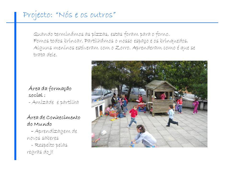 As crianças ditaram um convite para os amigos da Portela, que foi enviado por Email.