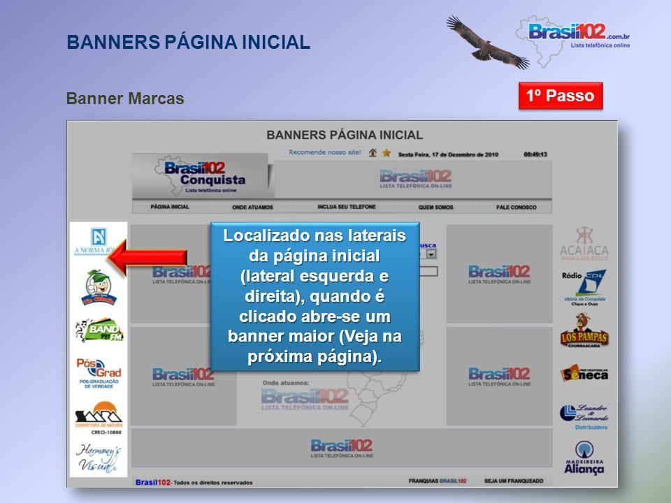 Banner Flutuante Ao abrir o site será exibido um banner do cliente no centro da página. Ao abrir o site será exibido um banner do cliente no centro da