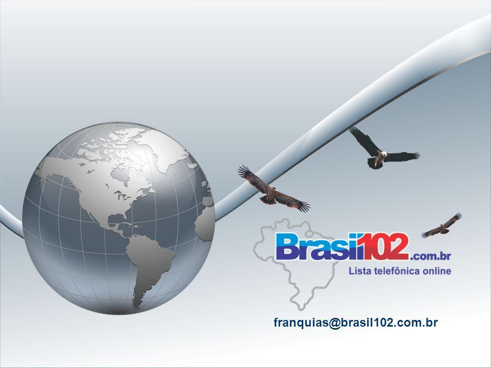 Dados da Franquia: Negócio: Comercialização de anúncios na lista telefônica on-line da sua região, (ex: www.102nomedasuacidade.com.br) Investimento in
