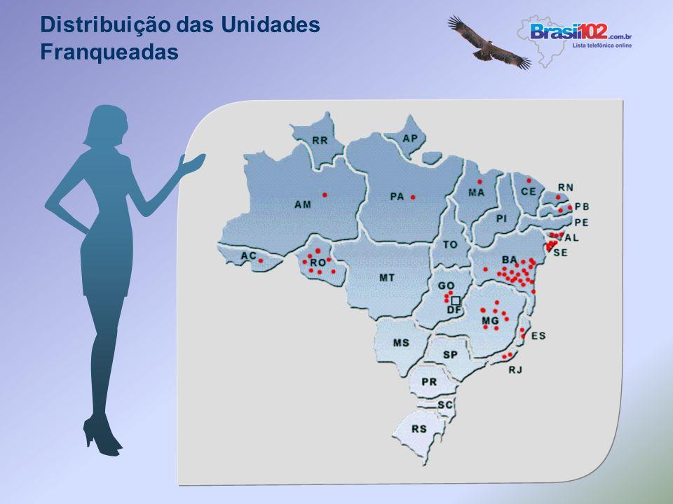 O registro do domínio www.brasil102nomedacidade.com.br - Será feito pela franqueadora e na hipótese deste domínio estar registrado em nome de outros,