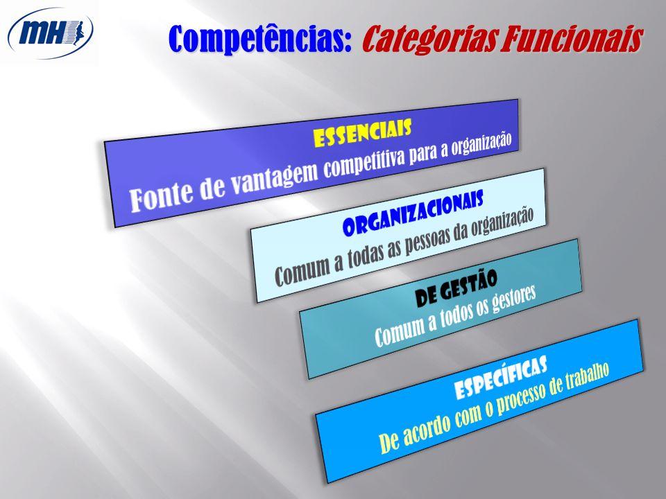 Competências: Categorias Funcionais