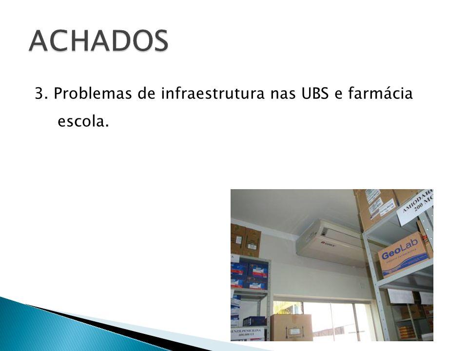 Adequar às condições de armazenagem e estocagem nas UBS; Prevenir acidentes que atinjam profissionais que trabalham diretamente nos processos.