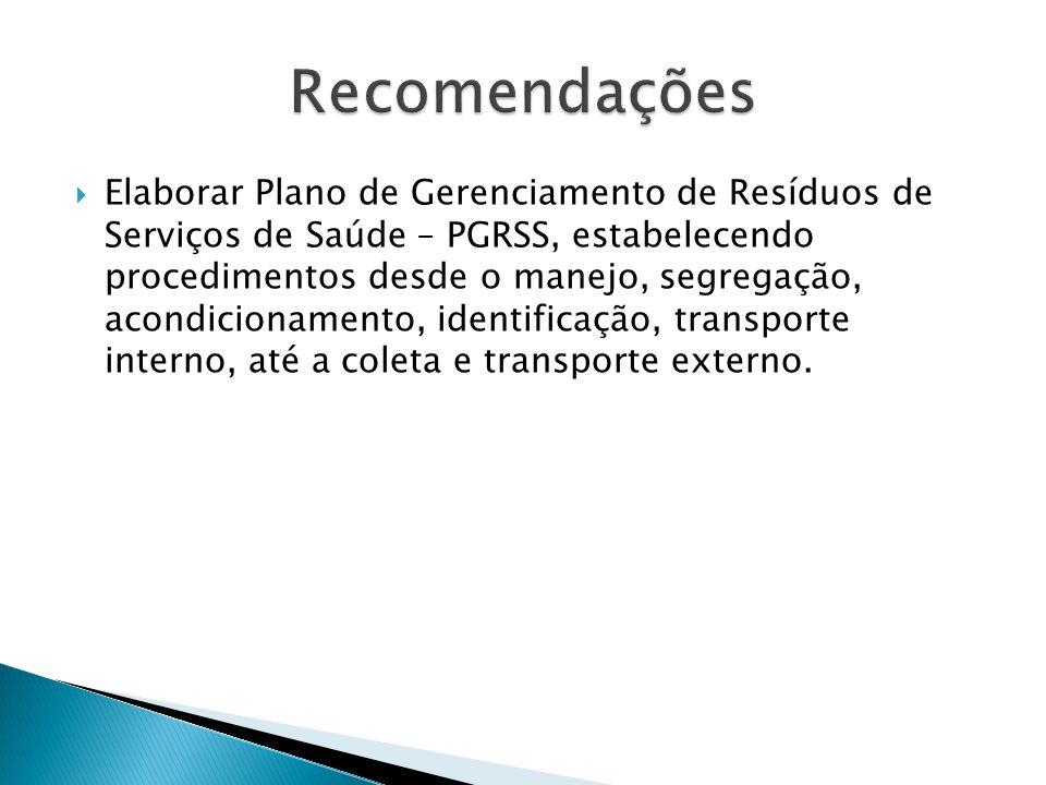 5. Não utilização adequada do sistema SIG saúde para o controle de estoque;