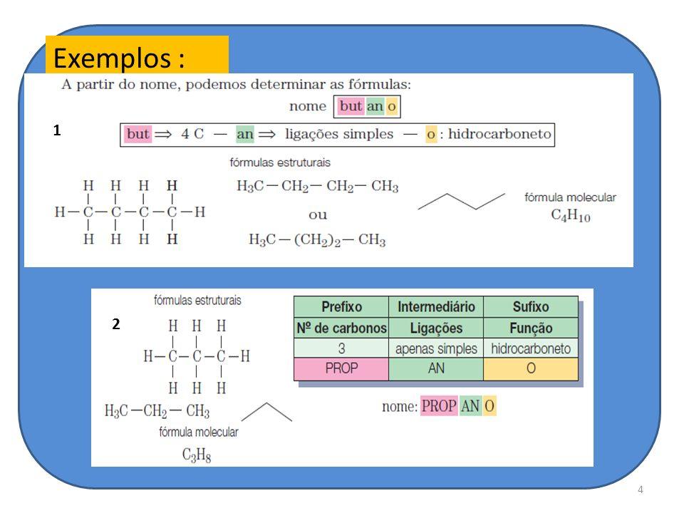 4 Exemplos : 1 2