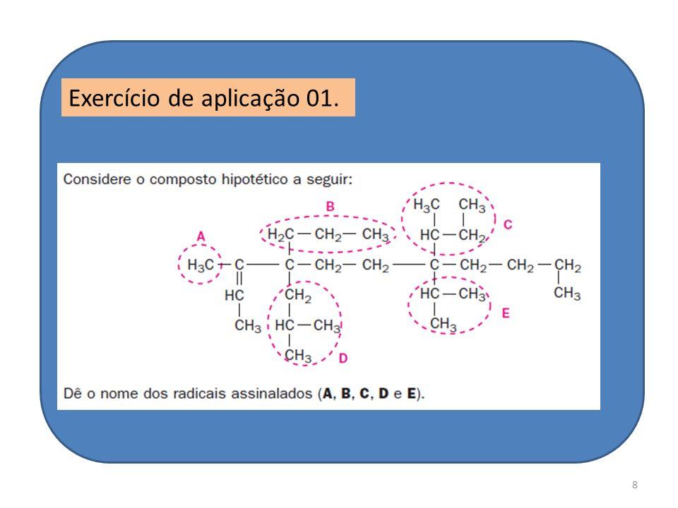 8 Exercício de aplicação 01.