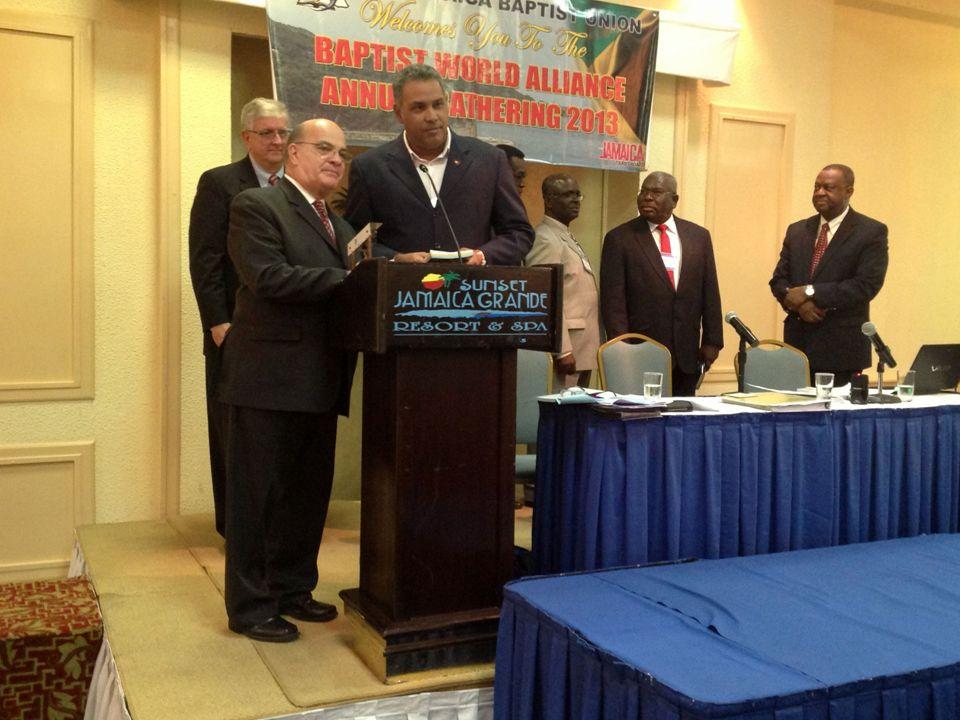 Pr.Jackson Silva Presidente UMBI 2º Vice-Presidente CIBI Pr.