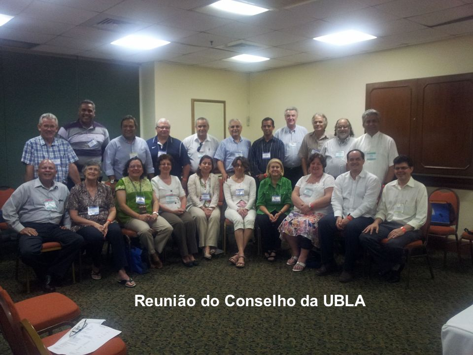 Reunião do Conselho da UBLA