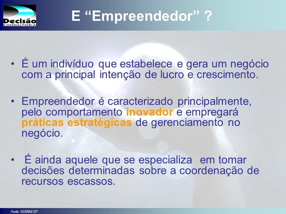 3 SEBRAE Serviço de Apoio às Micro e Pequenas Empresas do Estado de São Paulo Julio Alberto Glaser Monteiro E Empreendedor .