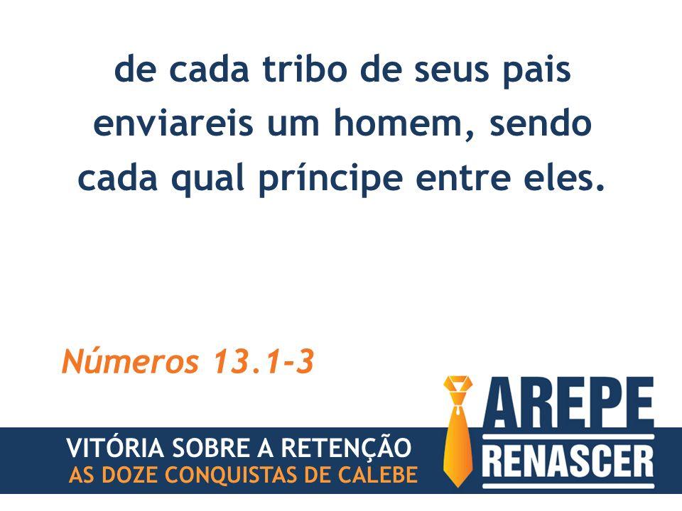 AS DOZE CONQUISTAS DE CALEBE VITÓRIA SOBRE A RETENÇÃO #5 INFERIORIDADE VOCÊ NÃO É GAFANHOTO.