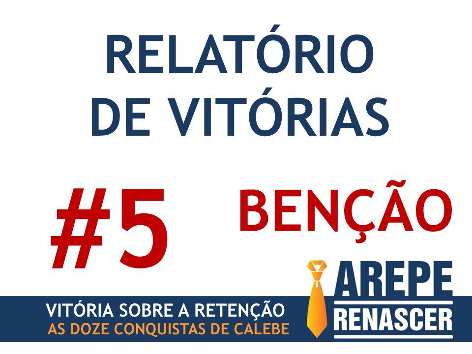 AS DOZE CONQUISTAS DE CALEBE BENÇÃO #5 VITÓRIA SOBRE A RETENÇÃO RELATÓRIO DE VITÓRIAS