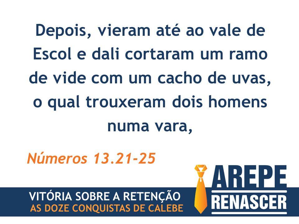 AS DOZE CONQUISTAS DE CALEBE FRUSTRAÇÃO #3 VITÓRIA SOBRE A RETENÇÃO GIGANTE DA RETENÇÃO TENTA ROUBAR A PROMESSA ATRAVÉS DA