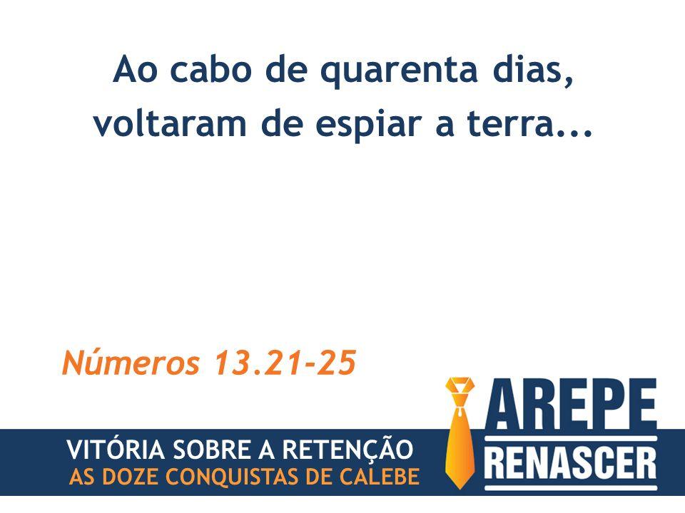 AS DOZE CONQUISTAS DE CALEBE VITÓRIA SOBRE A RETENÇÃO #1 INSEGURANÇA CONFIE NA PROMESSA DE DEUS