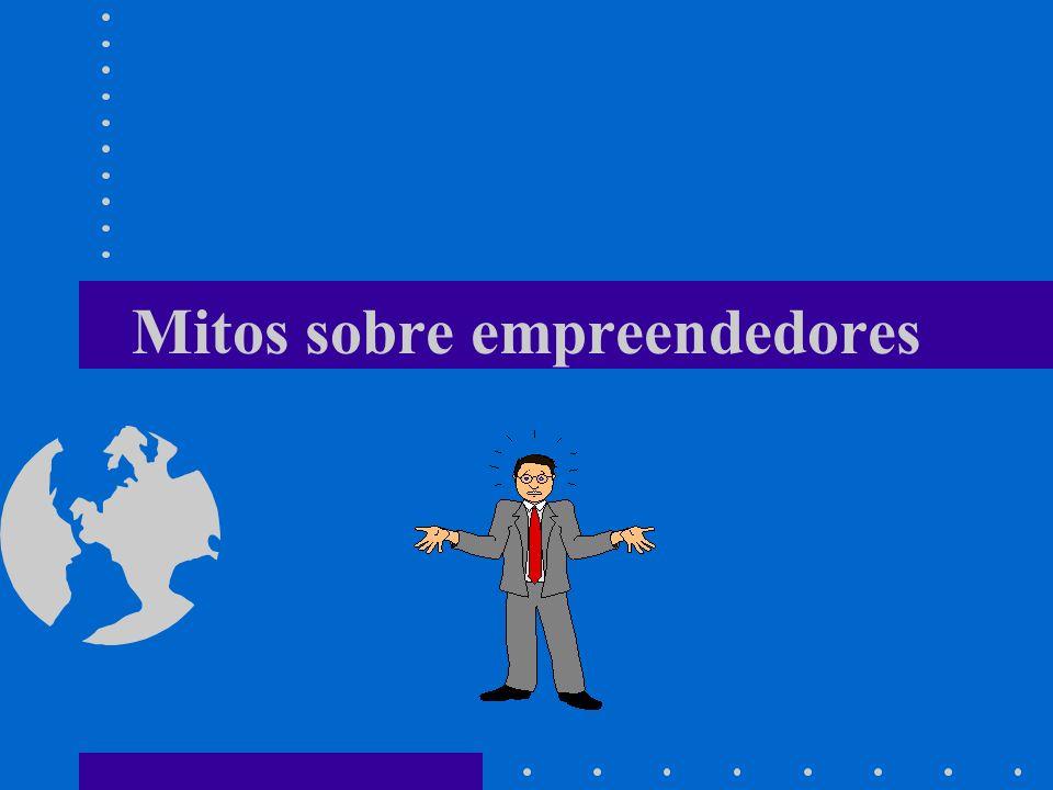 Mito 1 Empreendedores nascem feitos.