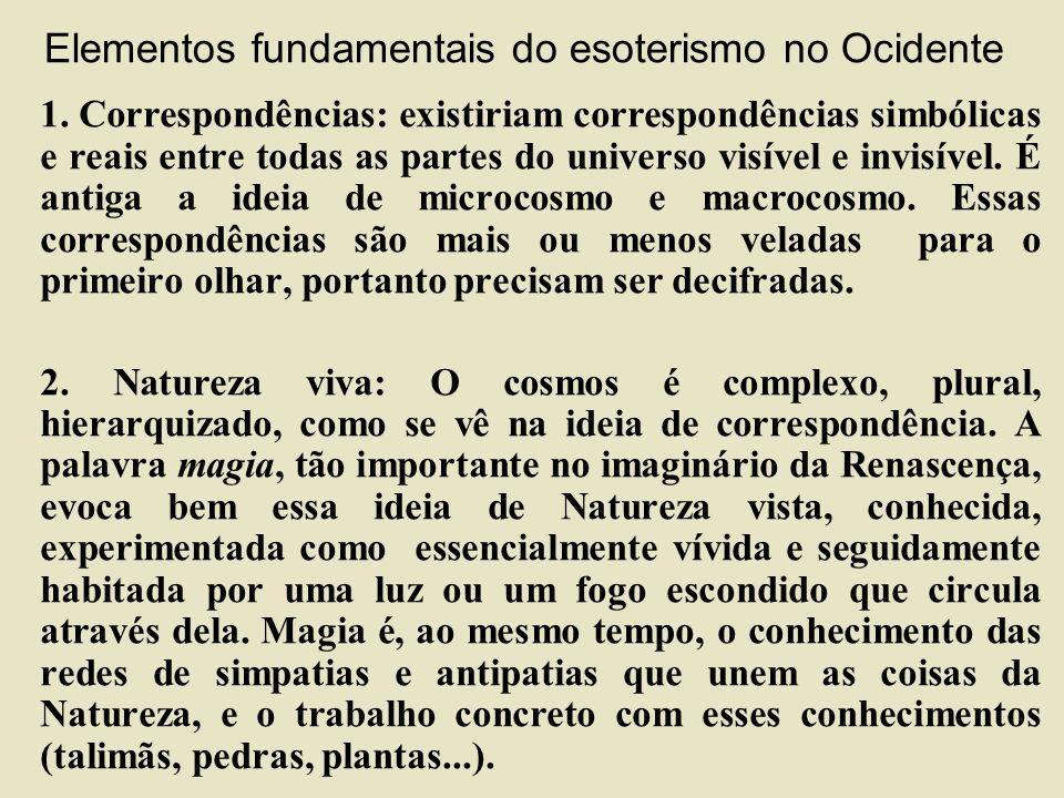 Elementos fundamentais do esoterismo no Ocidente 1.