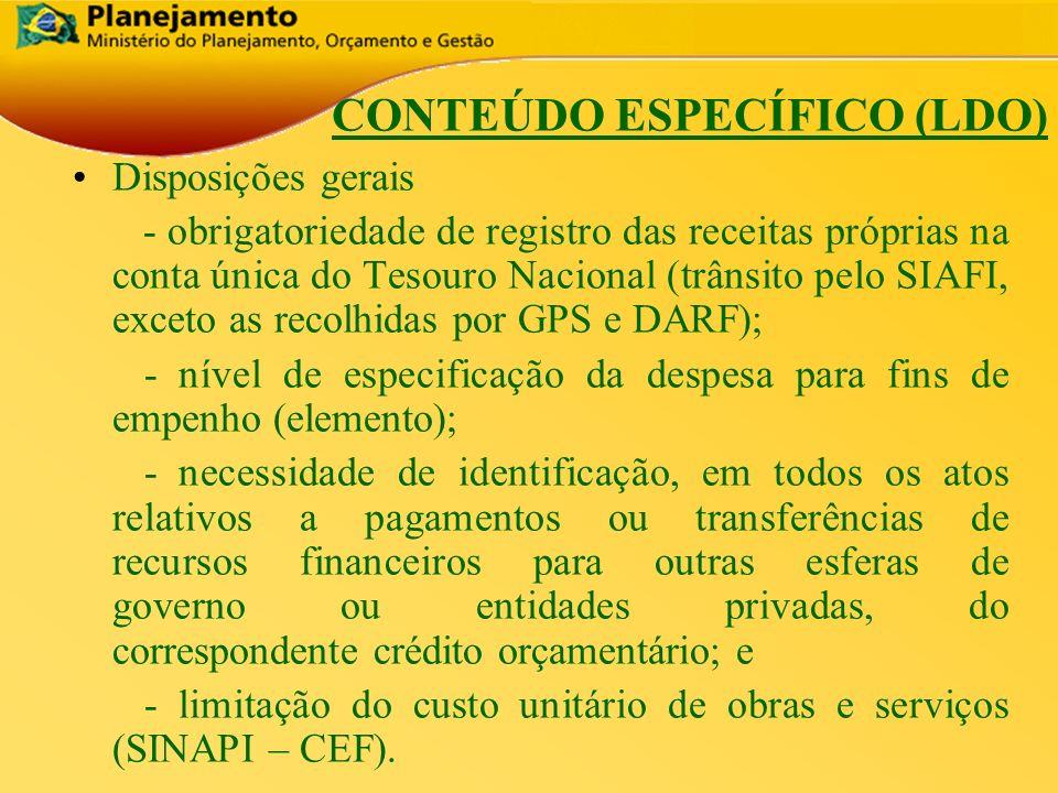 República Federativa do Brasil 16 Disposições gerais - obrigatoriedade de registro das receitas próprias na conta única do Tesouro Nacional (trânsito