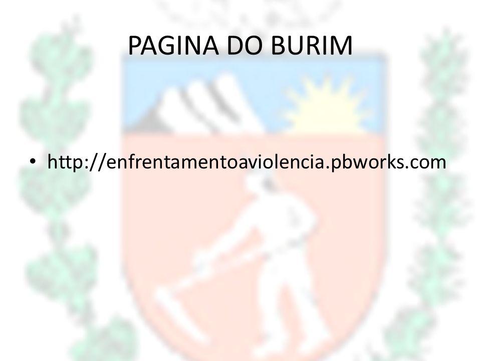 PAGINA DO BURIM http://enfrentamentoaviolencia.pbworks.com