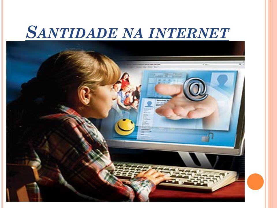 S ANTIDADE NA INTERNET