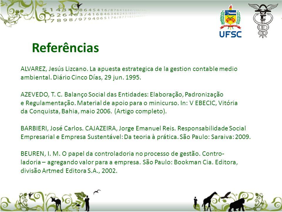 ALVAREZ, Jesús Lizcano.La apuesta estrategica de la gestion contable medio ambiental.