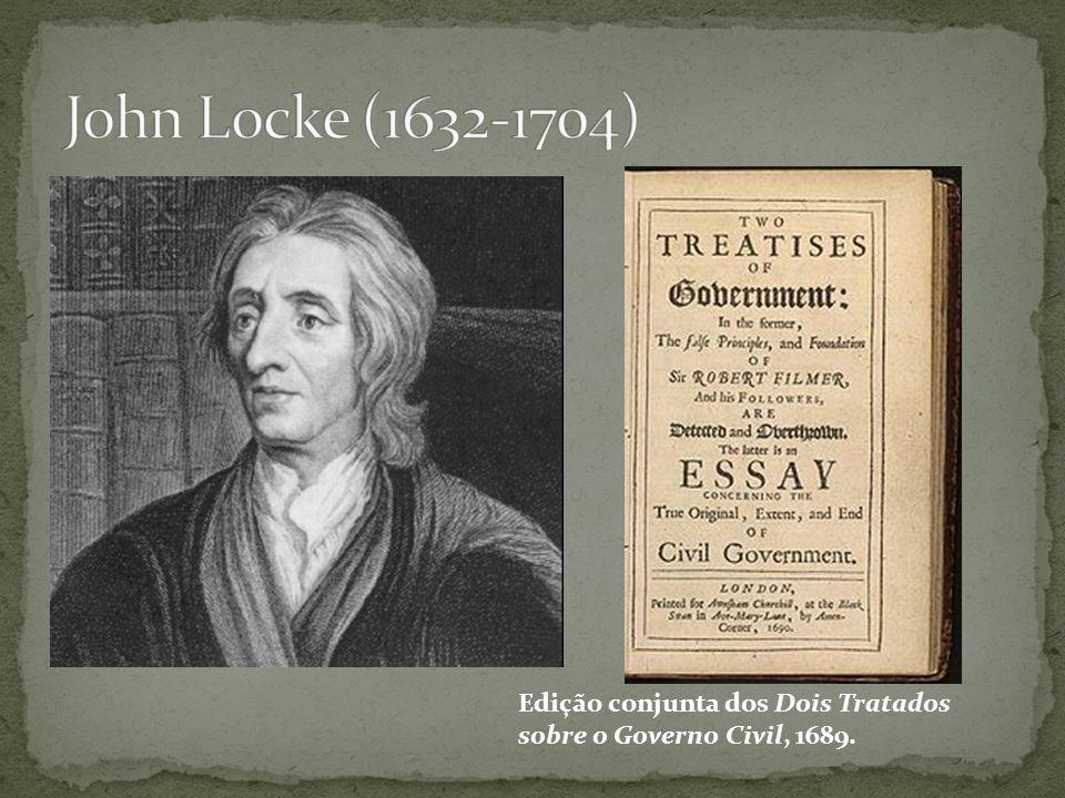 Edição conjunta dos Dois Tratados sobre o Governo Civil, 1689.
