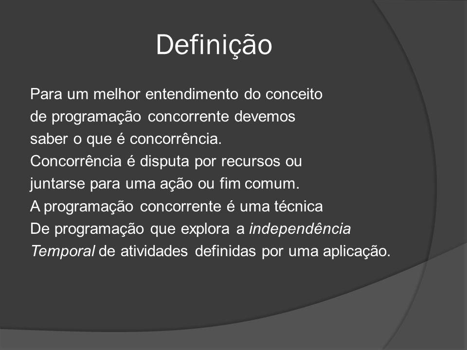 Referências Bibliográficas http://www.javaframework.org/portal/2010/04/14/o-que-programao- orientada-a-aspectos/ http://www.javaframework.org/portal/2010/04/14/o-que-programao- orientada-a-aspectos/ http://www.dca.ufrn.br/~affonso/FTP/DCA409/redes_de_petri.pdf http://gersonc.anahy.org/ppdrep/04-ProgramacaoConcorrente- PPD.pdf http://gersonc.anahy.org/ppdrep/04-ProgramacaoConcorrente- PPD.pdf http://www.dsc.ufcg.edu.br/~jacques/cursos/map/html/threads/threa ds1.html http://www.dsc.ufcg.edu.br/~jacques/cursos/map/html/threads/threa ds1.html