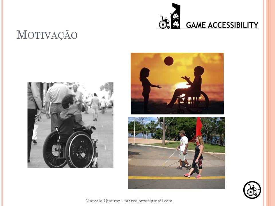 M OTIVAÇÃO Marcelo Queiroz - marcelorsq@gmail.com