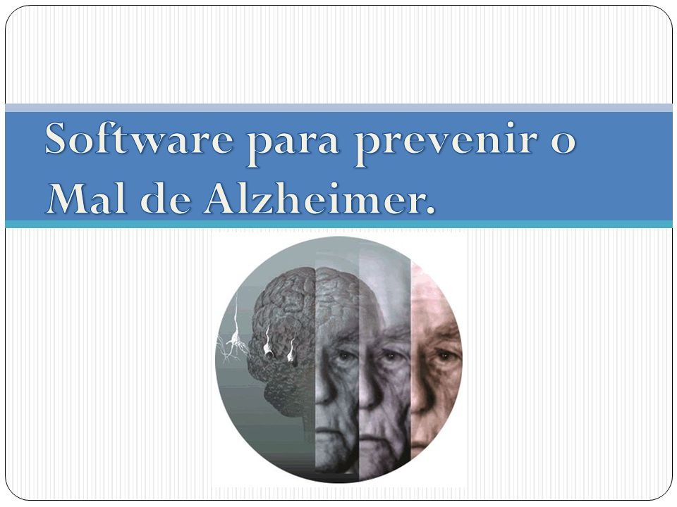 Motivação A utilização de recursos computacionais aliados ao tratamento usual junto a especialistas ligados ao tratamento do doente de Alzheimer vem fazendo com que os efeitos desta doença sejam desacelerados.