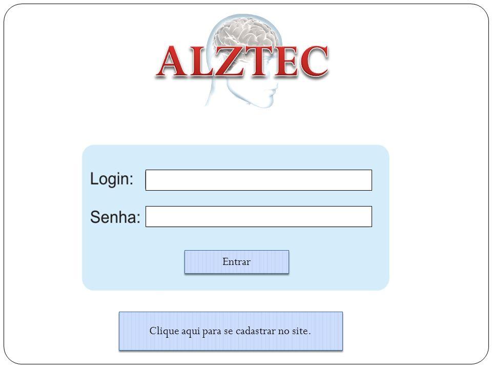 ALZTEC Conhecimento dos tratamentos Interface Amigável Conhecimento da Enfermidade