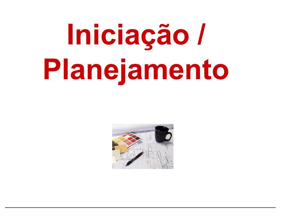 Iniciação / Planejamento