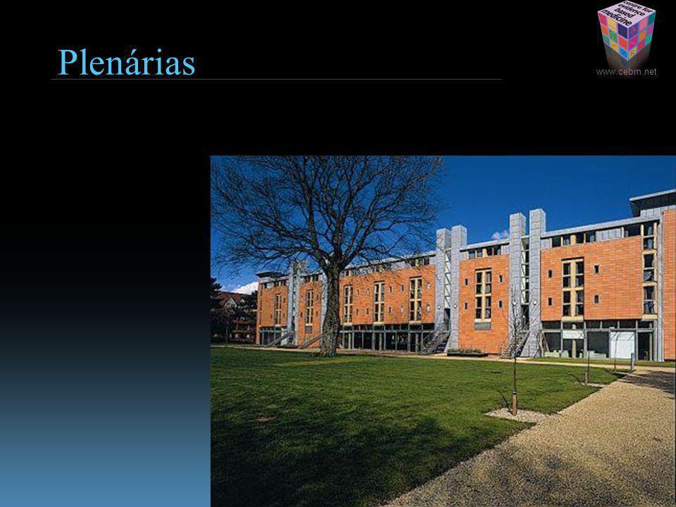 www.cebm.net Plenárias