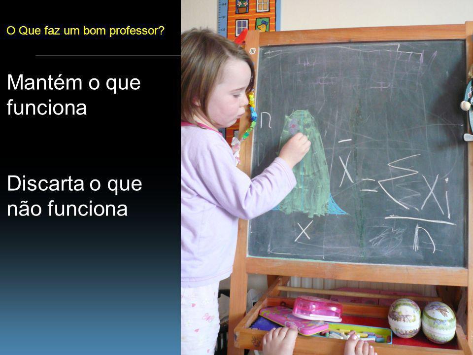 www.cebm.net O Que faz um bom professor Mantém o que funciona Discarta o que não funciona
