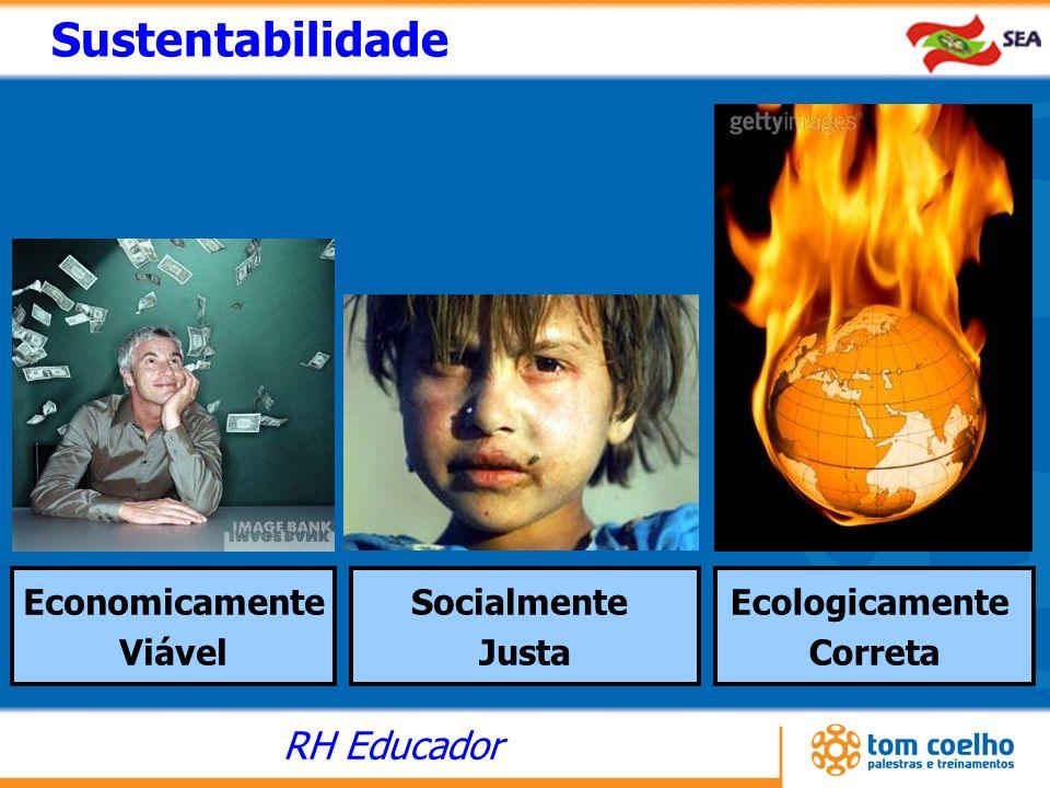 RH Educador Sustentabilidade Economicamente Viável Ecologicamente Correta Socialmente Justa