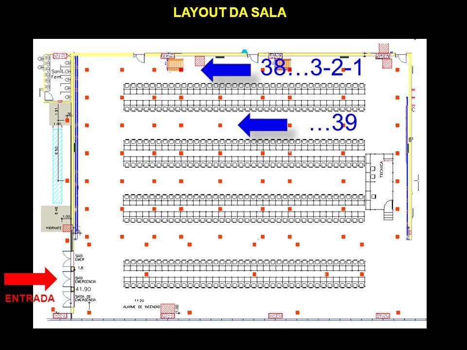 LAYOUT DA SALA ENTRADA 38…3-2-1 …39