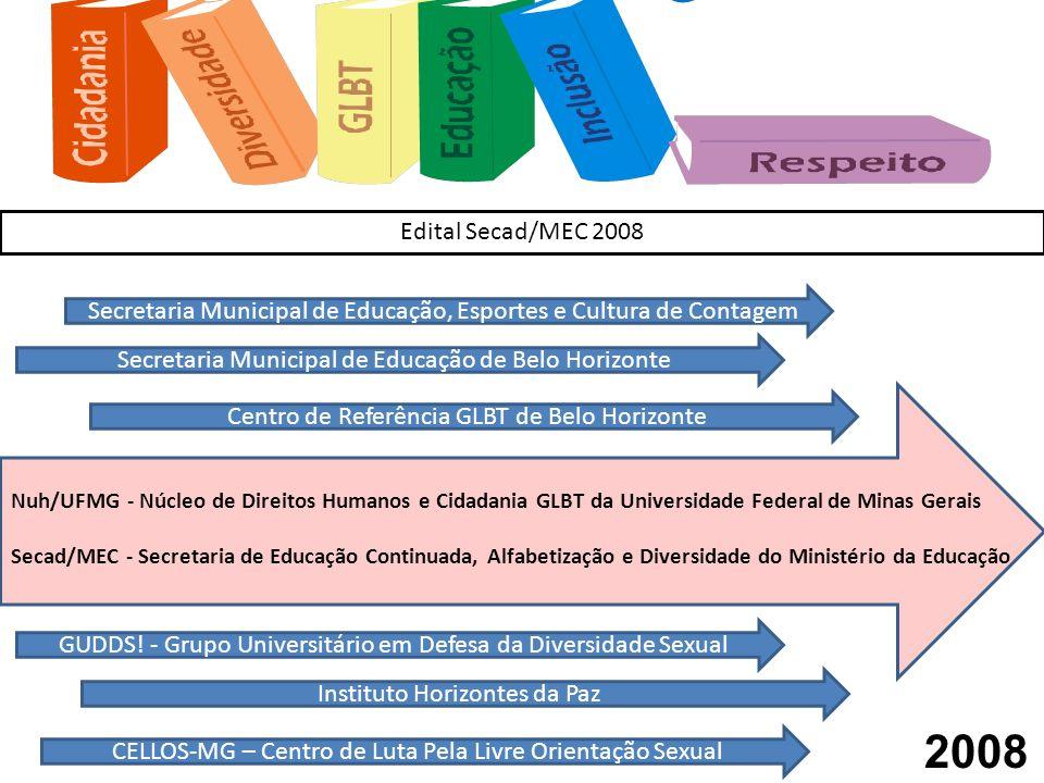 Nuh/UFMG - Núcleo de Direitos Humanos e Cidadania GLBT da Universidade Federal de Minas Gerais Secad/MEC - Secretaria de Educação Continuada, Alfabeti