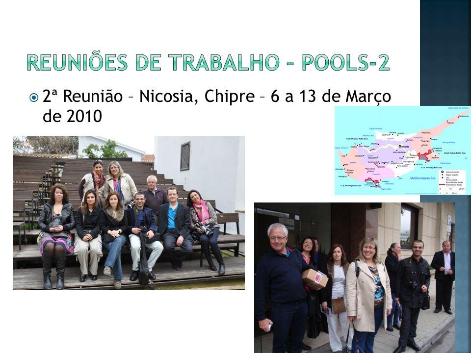 2ª Reunião – Nicosia, Chipre – 6 a 13 de Março de 2010