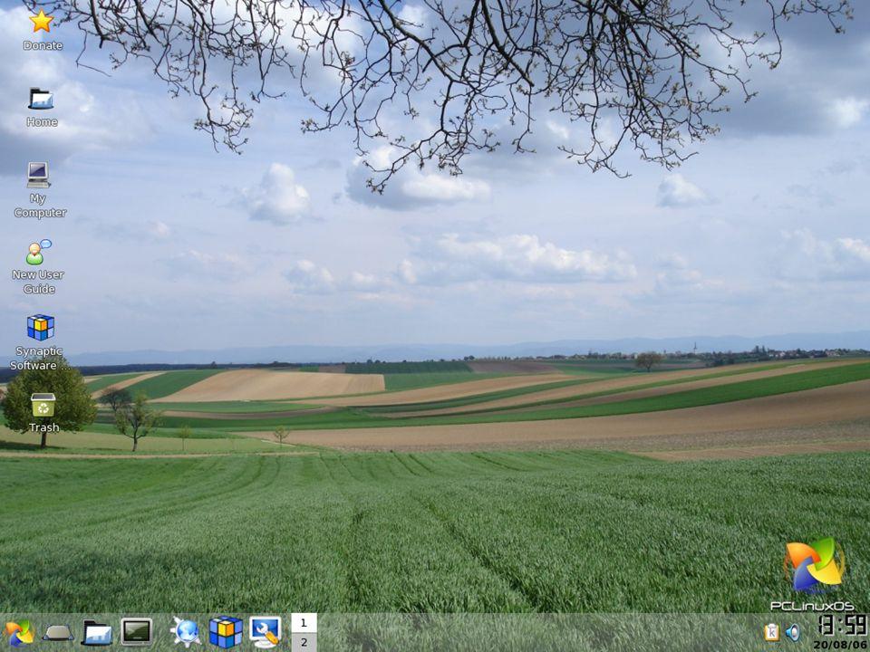 Sistema Operacional Exemplos :- LINUX Existem diversas distribuições Linux : Mandrake, Debian, Conectiva, Corel, Slack, Knoppix, Kurumin, Miolux, etc...